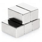 Rectangle ndfeb aimants - argent (5PCS / 20 * 10 * 10mm)