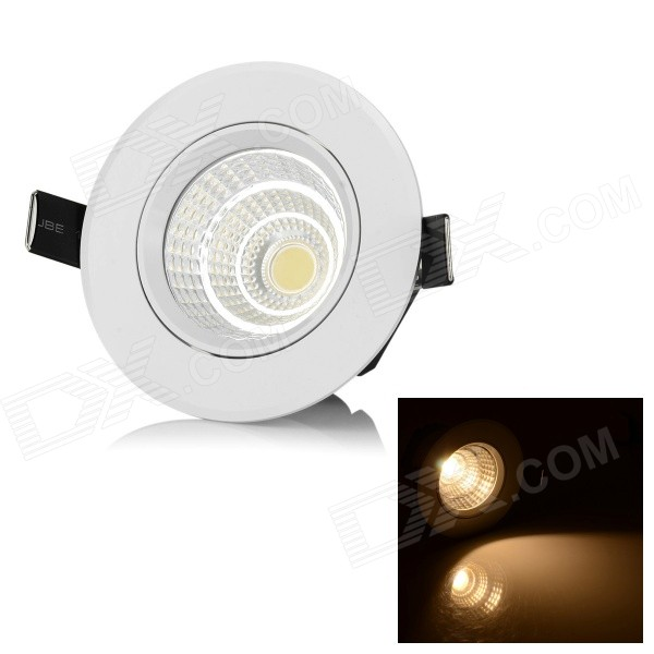 LeXing Lighting 5.5W 3500K 350lm COB Warm White Lamp (85~265V)