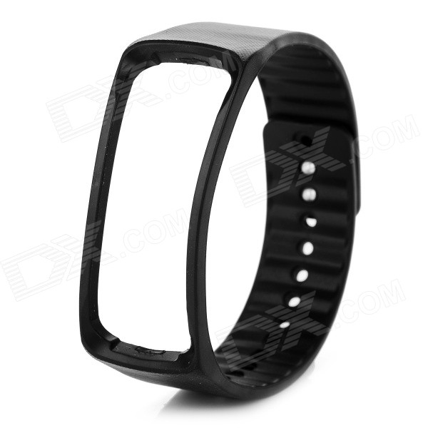 TPE + TPU Wrist Band for Samsung Gear Fit R350 Smart Watch - BlackWearable Device Accessories<br>Form ColorBlackQuantity1 DX.PCM.Model.AttributeModel.UnitMaterialTPE + TPUPacking List1 x Wrist band<br>