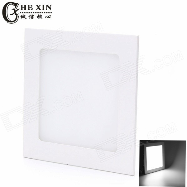 CXHEXIN MB6W-H 6W White 12-SMD LED Ceiling Light 6000K 500lm - White
