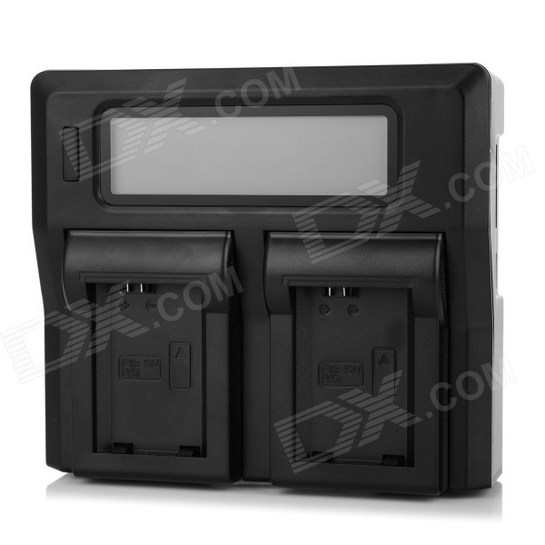 "3"" LCD NP-FW50 Battery Charger for SONY NEX5C NEX5N A33 - Black (EU)"