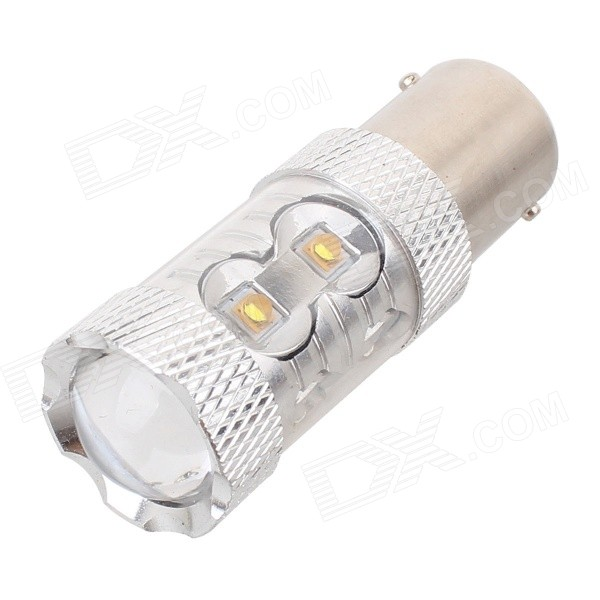 MZ 1156 50W 2500lm 5000K White 10-XT-E LED Car Light (12~24V)Tail Lights<br>Color BIN1156 50WModel1156 50WQuantity1 DX.PCM.Model.AttributeModel.UnitMaterialAluminumForm ColorSilver + YellowEmitter TypeLEDChip BrandOthers,N/AChip TypeXT-ETotal Emitters10PowerOthers,50wColor Temperature5000 DX.PCM.Model.AttributeModel.UnitTheoretical Lumens2750 DX.PCM.Model.AttributeModel.UnitActual Lumens2500 DX.PCM.Model.AttributeModel.UnitRate Voltage12~24VWaterproof FunctionNoConnector Type1156Other FeaturesWhite lightApplicationBackup light,FoglightPacking List1 x LED Bulb<br>