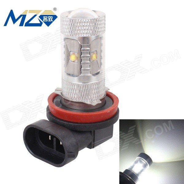 MZ H11 30W 1500lm 5000K White 6-XT-E LED Car Light (1224V)