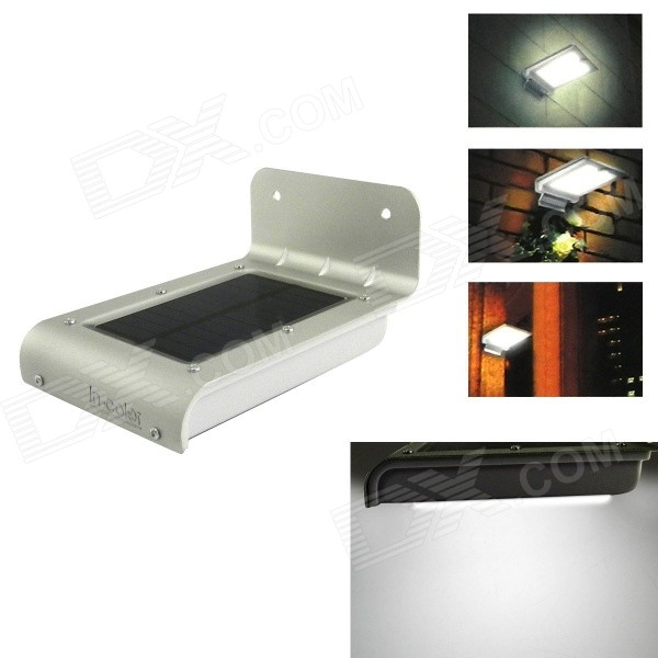 Buy IN-Color 3-in-1 LED Outdoor Solar Lamp w/ Motion, Sound, Light Sensors with Litecoins with Free Shipping on Gipsybee.com