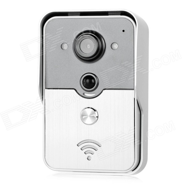 WB-0407-1 Wireless Wi-Fi Smart Visible Doorbell - Grey