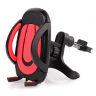 360° Rotatable Car Mount Holder for GPS / Cellphones - Black + Red