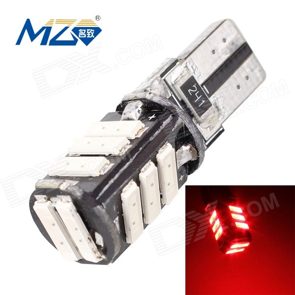 MZ T10 5.5W 660lm 11-SMD 7020 rote LED Canbus Fehler-freie Auto ...