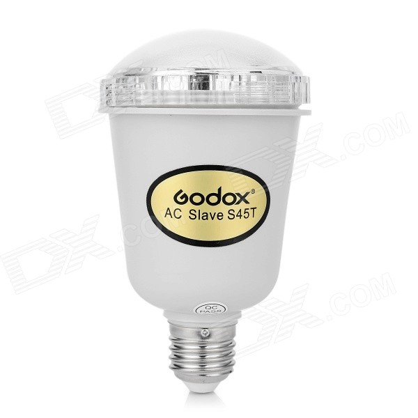 Buy GODOX S45T E27 45WS Electronic Umbrella Lamp - White with Litecoins with Free Shipping on Gipsybee.com