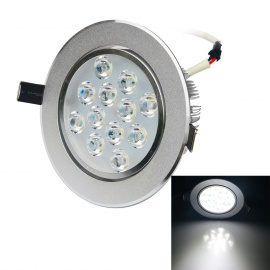 JIAWEN-12W-LED-Ceiling-Lamp-White-Light-6500K-1200lm-(100240V)-Silver