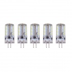 G4 3W 3000K 190lm 57-SMD 3014 chaud lampe blanche (dc 12V / 5PCS)