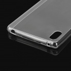 Mini Smile Ultra-thin TPU Back Case for Sony Xperia Z4 - Transparent