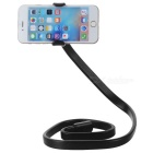 "360"" Rotary Wearable Flexible Neck Phone Stand + Selfie Monopod -Black"