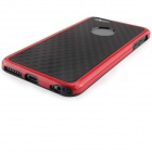 Fashion & Durable TPU & PC Case for IPHONE 6/6s Plus - Red + Black