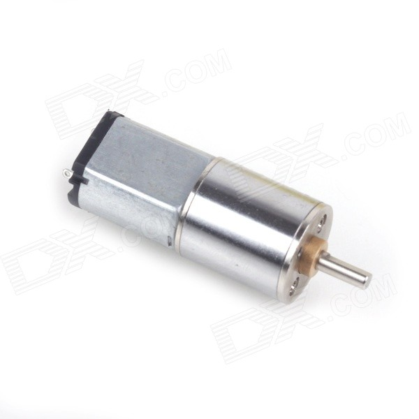ZnDiy-BRY 16MM 6V 60RPM Powerful High Torque DC Gear Box Motor- Silver