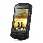 V6+ Waterproof Android 4.2 Smart Phone w/ 512MB RAM, 2GB ROM - Black