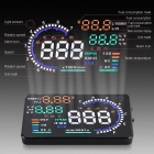 "A8 5.5"" Ecran HUD Head Up Display System pour voiture - Noir"