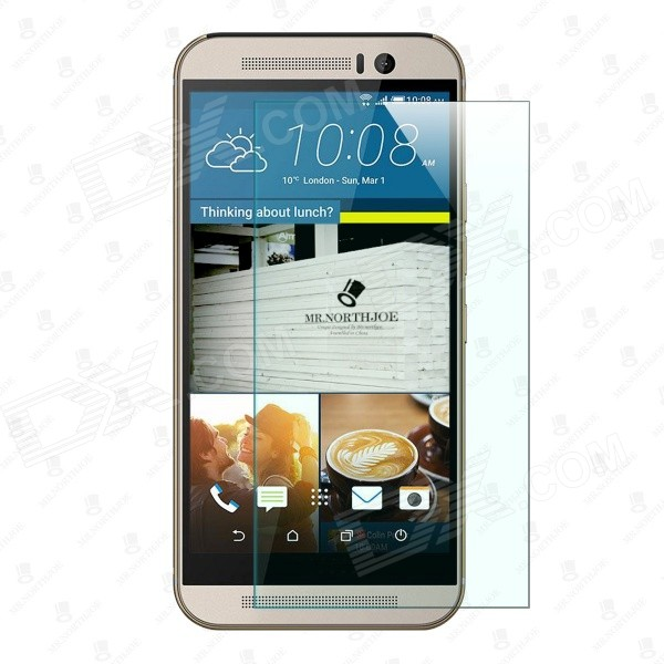 Mr.northjoe 0.3mm 2.5D 9H Tempered Glass Screen Guard Protector for HTC One M9Screen Protectors<br>Form  ColorTransparentScreen TypeGlossyModelN/AMaterialTempered glassQuantity1 DX.PCM.Model.AttributeModel.UnitCompatible ModelsHTC One M9Packing List1 x Tempered glass screen protector1 x Cleaning cloth 1 x Dust cleaning film1 x Alcohol prep pad<br>