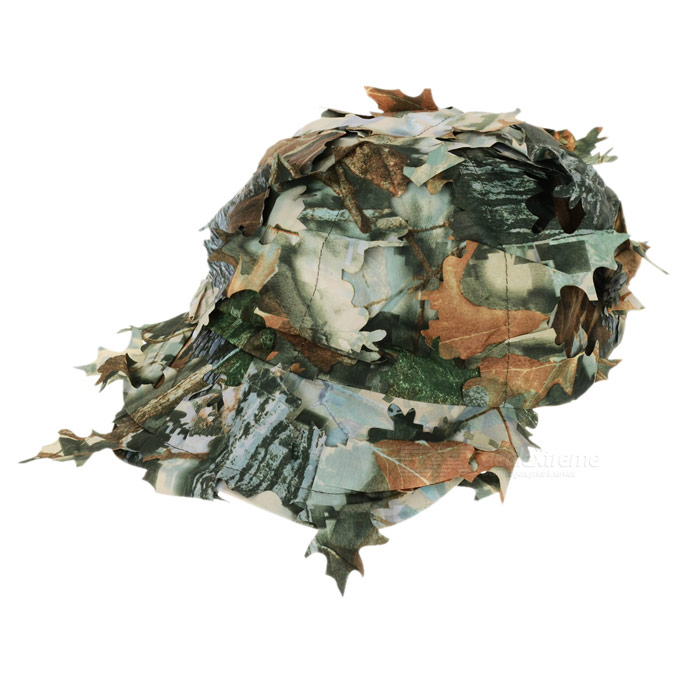 Outdoor UV Protection CS War Game Jungle Camo Leaf Cap - Camouflage ... 219c58c00734