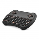 V6 USB 69-Key 2.4GHz Wireless Air Mouse Keyboard w/ Touchpad - Black