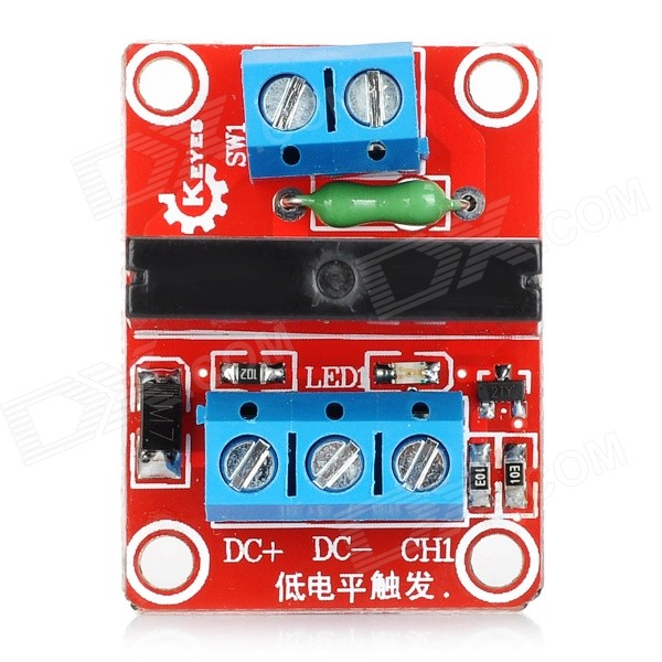 1-CH 5V Solid-state Relay for Arduino (Red)