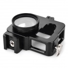 Aluminum Alloy Shell w/ 37mm Lens Cap/UV Filter, Strap for GoPro 4