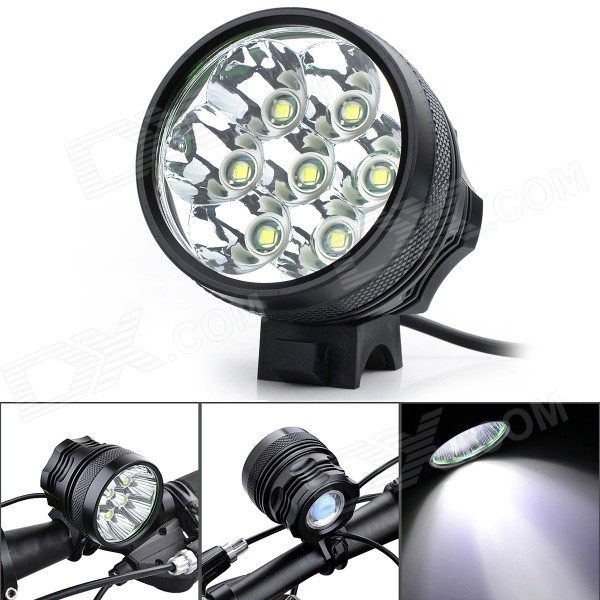 Marsing B70 LED 3-Mode 5500lm Cold White Bike Light (6*18650/EU Plug)