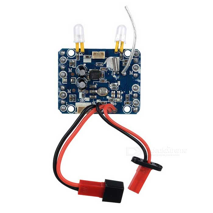R/C Quadcopter Accessory Circuit Receiver Board for JJRC H12C - Blue