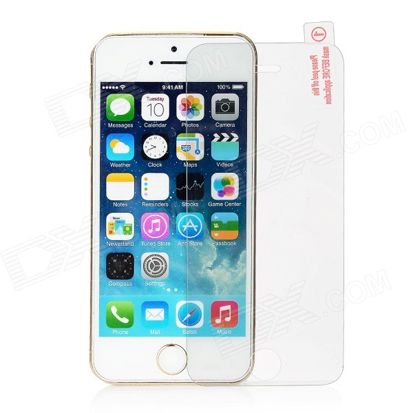 FineSource Tempered Glass Film for IPHONE 5 / 5S / 5C - Transparent