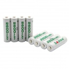 Soshine-RTU-Pre-Charged-Rechargeable-AA-Ni-MH-2600mAh-Batteries-White-(8-PCS)