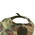 Python Pattern 600D Oxford Baseball Hat - Green Camouflage