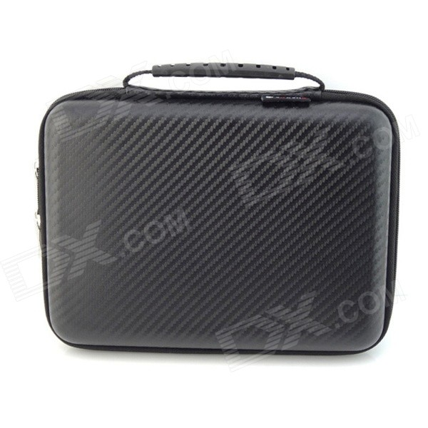 Large Capacity Shockproof Water-resistant Digital Storage Bag - BlackBags and Pouches<br>Form  ColorBlackModelTM1319Quantity1 DX.PCM.Model.AttributeModel.UnitShade Of ColorBlackMaterialHard leather waterproof fabricCompatible SizeOthers,2.5 inch, 3.5 inchTypeTote BagsPacking List1 x Storage bag<br>