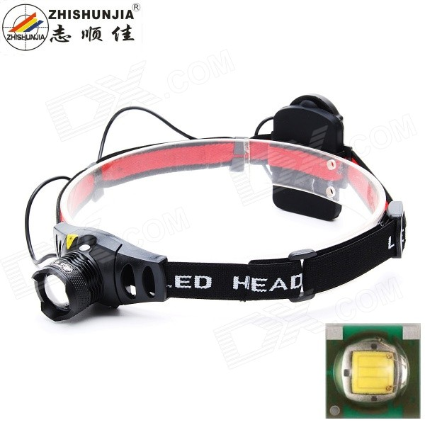 ZHISHUNJIA TK67Q5 3W 300lm 3-Mode White LED Zoom Headlamp (3*AAA) for sale in Bitcoin, Litecoin, Ethereum, Bitcoin Cash with the best price and Free Shipping on Gipsybee.com