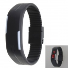 Sports Bracelet LED Water Resistant Wrist Watch - Black (1*AG13)