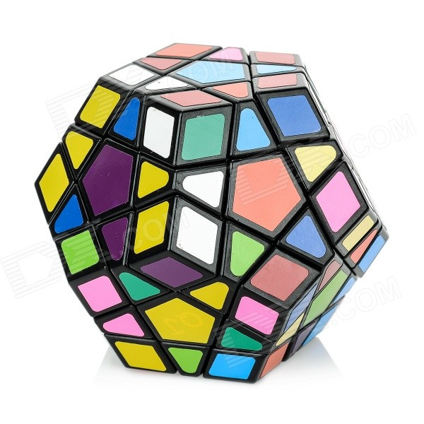 Spring Adjustable Magic Dodecahedron Megaminx Rubik Cube - Multicolor