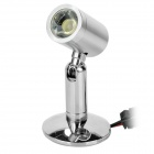 3W 130lm Spotlight Lamp w/ Adjustable Base Cold White LED (85~265V)