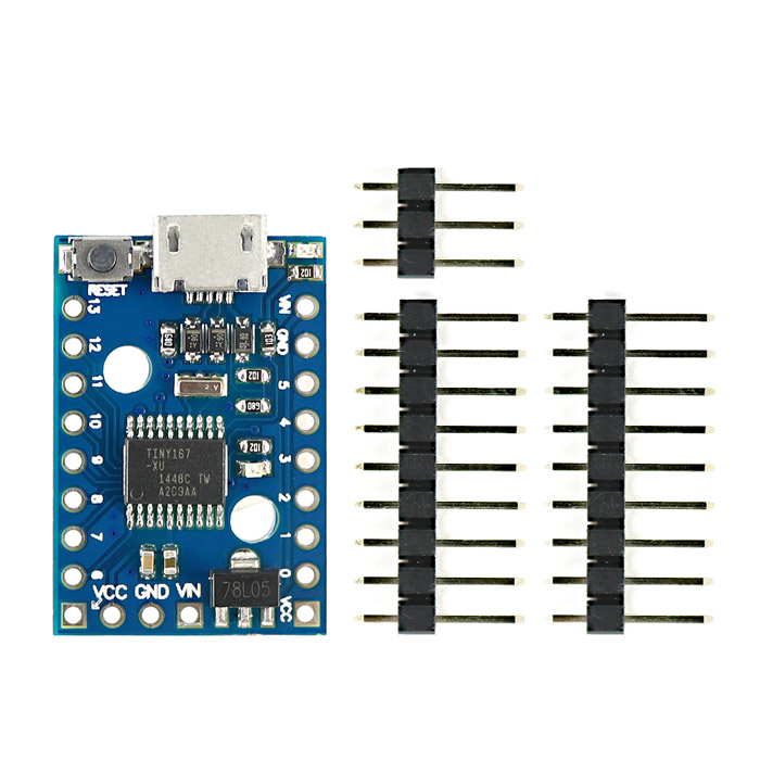 Micro USB Digispark Pro Development board w/ ATTiny167 for Arduino