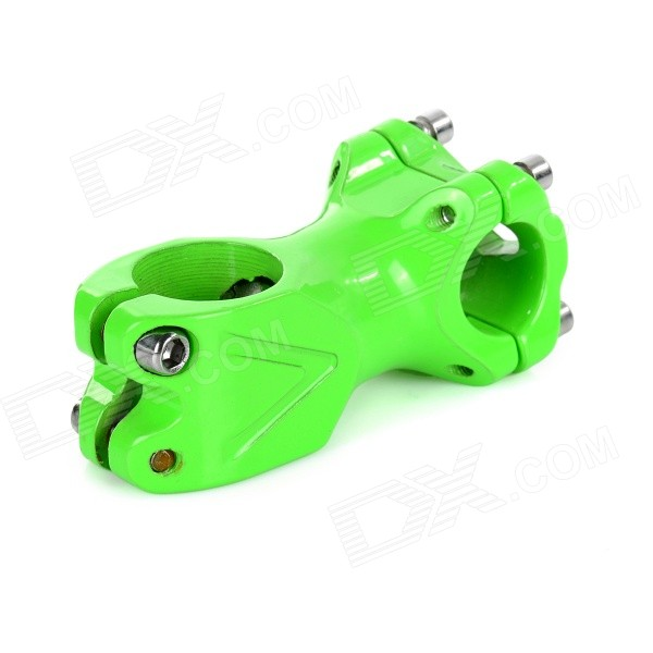 Aluminum Bicycle Handlebar Head Tube for Fixed Gear Bike - Green