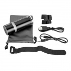 Sports Bluetooth v2.1 Speaker w/ Hands-free, TF, Bicycle Mount - Black