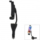 Car-Holder-Charger-w-Dual-USB-Micro-USB-Connector-Black