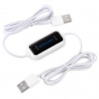 USB 2.0 Data Link Cable - White (150cm)