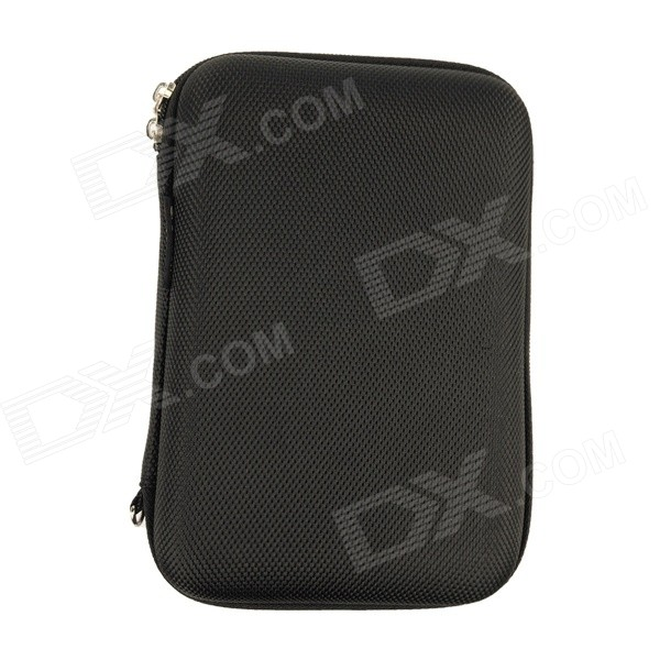 Multi-functional Shockproof Dustproof Storage Bag for 2.5 HDD - BlackBags and Pouches<br>Form  ColorBlackModelTM1303Quantity1 DX.PCM.Model.AttributeModel.UnitShade Of ColorBlackMaterialHard anti-shock fabricCompatible SizeOthers,2.5 inchTypeSleeves,Tote BagsPacking List1 x Storage bag<br>