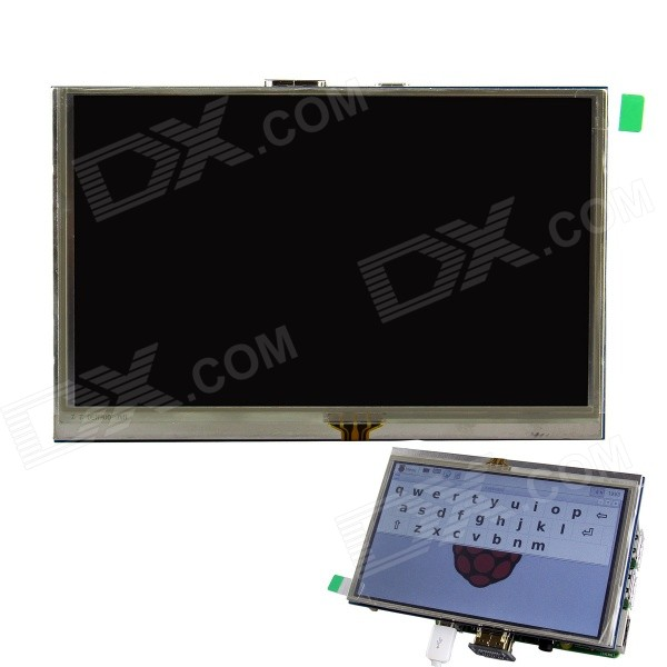 5 inch HDMI TFT LCD Touch Screen for Raspberry PI 3B/ 2B / B+ / A+ / B