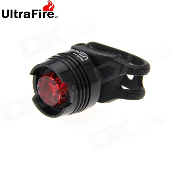 UltraFire LED 2.6lm 3-ModeBike Tail Safety Light