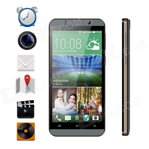 "VKWORLD VK700 5.5"" Android 5.1 3G Phone w/ 1GB RAM, 8GB ROM - Black"
