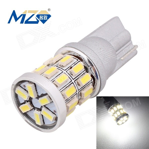 Buy MZ T10 3W Car LED Clearance Lamp White Light 30-SMD 360lm 6500K (12V) with Litecoins with Free Shipping on Gipsybee.com