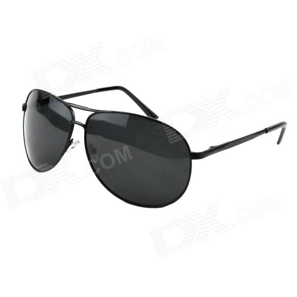 UV400 Protection Resin Lens Polarized Sunglasses - Black for sale in Bitcoin, Litecoin, Ethereum, Bitcoin Cash with the best price and Free Shipping on Gipsybee.com