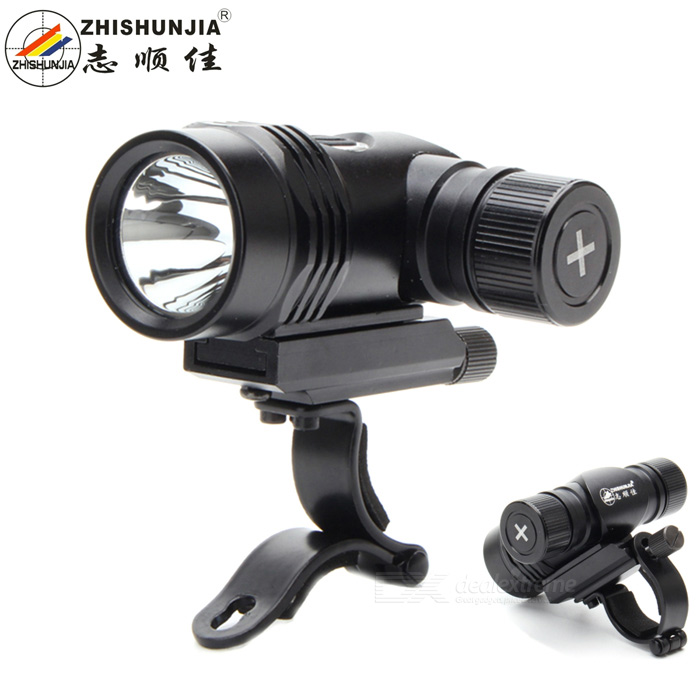 ZHISHUNJIA FK08-T6 XM-L2 T6 5-Mode 800lm White Bike Light - Black