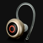 Eyeball Style Bluetooth v4.0 Sports Headset - Champagne Gold
