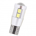 MZ T10 4W 300lm 20-LED Decode White Light Car Světlá lampy (12 ~ 18V)