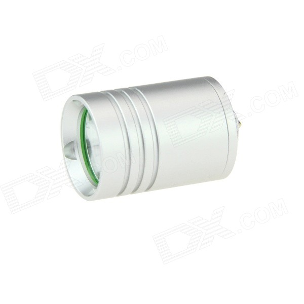 3-Mode XP-E2 Q5 LED Flashlight Head - Silver (510 E-Cigarette Battery)